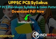 UPPSC Syllabus 2021 - Download PCS Syllabus Pdf for Pre & Mains Exam in Hindi & English. UP PCS Syllabus in Hindi Pdf & UPPSC PCS Syllabus Pdf 2021. PCS Pdf