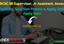 WEBCSC Recruitment 2021 - Apply Online WEBCSC 58 Supervisor, Junior Assistant, Accounts Vacancy Notification, Eligibility Criteria, Salary, Last Date, Age Limit,