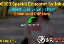 DSSSB Special Educator Syllabus 2021 - Download DSSSB Special Educaton Teacher Syllabus pdf in Hindi/English. Download DSSSB Special Teacher Syllabus Pdf.