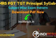 EMRS PGT TGT Principal Syllabus 2021 - Download EMRS PGT TGT Principal & Vice Principal Syllabus pdf in Hindi/English. Download EMRS TGT PGT Syllabus Pdf