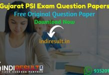 Gujarat PSI Exam Question Papers - Download Gujarat PSI Previous Year Question Papers pdf & PSI Question Paper Gujarat. Get Gujarat PSI Exam Papers Answer