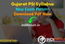Gujarat PSI Syllabus 2021 - Download PSI Syllabus Gujarat pdf in Gujarati/Hindi & Gujarat Police SI Syllabus Exam Pattern. Download PSI Syllabus pdf Gujarat