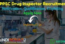 HPPSC Drug Inspector Recruitment 2021 - Himachal Pradesh Public Service Commission released HPPSC 11 Drug Inspector Vacancy Notification, Salary, Age Limit.
