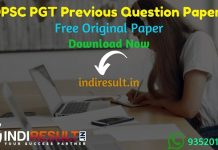 OPSC PGT Previous Question Papers - Download OPSC PGT Previous Year Question Papers pdf & opsc.gov.in Post Graduate Teacher Question Paper. OPSC PGT Papers