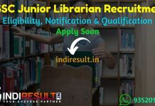 OSSC Junior Librarian Recruitment 2021 - Apply OSSC 25 Junior Librarian Vacancy Notification, Eligibility Criteria, Age Limit, Salary, Qualification.