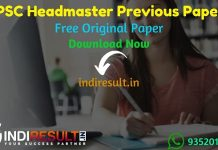 RPSC Headmaster Previous Question Papers - Download RPSC Headmaster Previous Year Question Papers pdf. RPSC HM Question Paper. RPSC Previous Papers Download