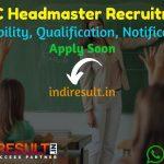 RPSC Headmaster Recruitment 2021 - Apply RPSC 83 Headmaster Vacancy Notification, RPSC HM Eligibility Criteria, Age Limit, Salary, Educational Qualification