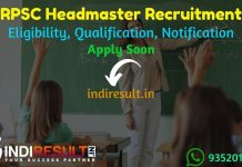 RPSC Headmaster Recruitment 2021 - Apply RPSC 83 Headmaster Vacancy Notification, RPSC HM Eligibility Criteria, Age Limit, Salary, Educational Qualification