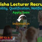 SSB Odisha Lecturer Recruitment 2021 - Apply SSB Odisha 972 Lecturer Vacancy Notification, SSB Lecturer Eligibility Criteria, Age Limit, Salary, Last Date.