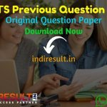 SSC MTS Previous Question Papers - Download SSC MTS Previous Year Question Papers Pdf in Hindi/English, SSC MTS Old Papers, SSC MTS Question Papers Book