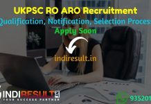 UKPSC RO ARO Recruitment 2021 - Apply UKPSC Uttarakhand Review Officer (RO) Accounts & Asst Review Officer (ARO) Vacancy Notification, UKPSC RO ARO Salary