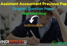 UKSSSC Assistant Accountant Previous Question Papers - Download Uttarakhand Assistant Accountant Previous Year Papers Pdf, UKSSSC Accountant Question Paper