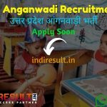 UP Anganwadi Recruitment 2021 - Bal Vikas Seva & Pushtahar Vibhag Uttar Pradesh released UP 50000 Anganwadi Worker, Helper Vacancy Notification, Salary.
