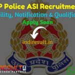 UP Police ASI Recruitment 2021 - Uttar Pradesh Police Recruitment and Promotion Board released UPPRPB 1277 ASI Clerk Accounts Vacancy Notification, Salary.
