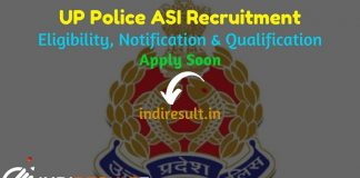 UP Police ASI Recruitment 2021 - Uttar Pradesh Police Recruitment and Promotion Board released UPPRPB 1329 ASI Clerk Accounts Vacancy Notification, Salary.
