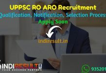 UPPSC RO ARO Recruitment 2021 - Apply UPPSC Uttar Pradesh 337 RO ARO Vacancy Notification, UPPSC RO ARO Eligibility Criteria, Salary,Age Limit,Qualification