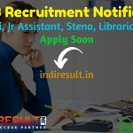 JKSSB Recruitment 2021 for 2311 Patwari, Jr Assistant, Jr Steno Posts - Apply JKSSB Patwari, Assistant, Steno, Staff Nurse, Librarian, Pharmacist Vacancy.