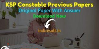 Karnataka Police Constable Previous Question Papers - Download KSP Constable Previous Year Question Papers pdf. Karnataka Police Constable Old Paper.