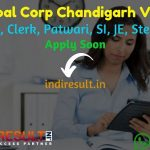 MC Chandigarh Recruitment 2021 for 172 Fireman, Clerk, Patwari, SI, JE, Steno Posts - Apply Chandigarh Nagar Nigam Vacancy Notification, Eligibility, Salary