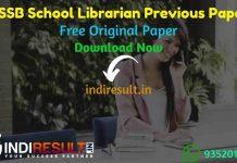 PSSSB School Librarian Previous Question Papers - Download PSSSB School Librarian Previous Year Question Papers pdf & PSSSB School LibrarianQuestion Paper.