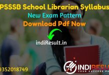 PSSSB School Librarian Syllabus 2021 - PSSSB Punjab School Librarian Syllabus pdf in Hindi/English & PSSSB Librarian Exam Pattern. PSSSB Librarian Syllabus.
