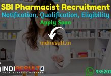 SBI Pharmacist Recruitment 2021 - SBI 67 Pharmacist Clerical Cadre Vacancy Notification, Eligibility, Age Limit, Salary, Qualification, Apply Online, Date.