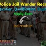 Punjab Police Jail Warder Recruitment 2021 - Apply PSSSB Punjab 815 Jail Warder Vacancy Notification, Eligibility Criteria, Age Limit, Salary, Last Date.