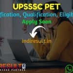 UPSSSC PET 2021 - Uttar Pradesh Preliminary Eligibility Test UP PET is eligibility test for Group C vacancies under UPSSSC. Apply online for UP PET 2021.