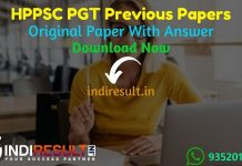 HPPSC PGT Previous Question Papers - Download HPPSC PGT Previous Year Question Papers pdf & HPPSC PGT Teacher Question Paper. Get HPPSC PGT Previous Papers