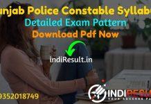 Punjab Police Constable Syllabus 2021 - Download Punjab PSSSB Constable Syllabus pdf in Punjabi/Hindi/English & Punjab Police Constable Exam Pattern.