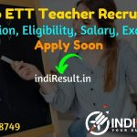Punjab ETT Teacher Recruitment 2021 - Apply for Punjab 6635 ETT Vacancy Notification, Eligibility Criteria, Salary, Age Limit, Qualification, Last Date.