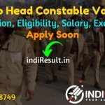 Punjab Police Head Constable Recruitment 2021 - Apply for Punjab Police 787 Head Constable Vacancy Notification, Eligibility, Salary, Age Limit, Last Date.