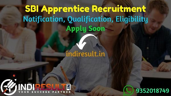 SBI Apprentice Recruitment 2021 - SBI Apprentice Notification Released for 6100 Posts, Check SBI Apprentice Eligibility, Age Limit, Salary, Qualification.
