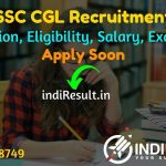SSC CGL 2021 - SSC CGL Eligibility, Exam Date, Notification, Syllabus, Age Limit . Staff Selection Commission released Recruitment Notification of CGL 2021.