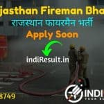 Rajasthan Fireman Bharti 2021: Apply RSMSSB 600 Fireman Vacancy Notification, Eligibility, Age Limit, Salary, Qualification, Selection process,Last Date.