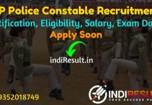 HP Police Constable Recruitment 2021 - Apply Online Himachal Pradesh 1334 Police Constable Vacancy, Notification, Eligibility, Age Limit, Salary, Last Date.
