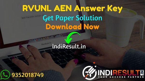 RVUNL AEN Answer Key 2021 - Download Official Answer Key RVUNL AE Exam. Download RVUNL Assistant Engineer Paper Solution Key here & energy.rajasthan.gov.in