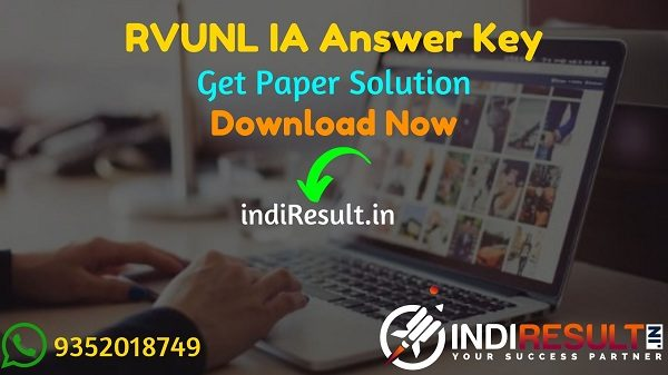 RVUNL IA Answer Key 2021 - Download Answer Key of RVUNL IA ExamPdf. Download RVUNL Informatics Assistant Paper Solution Key here & energy.rajasthan.gov.in.