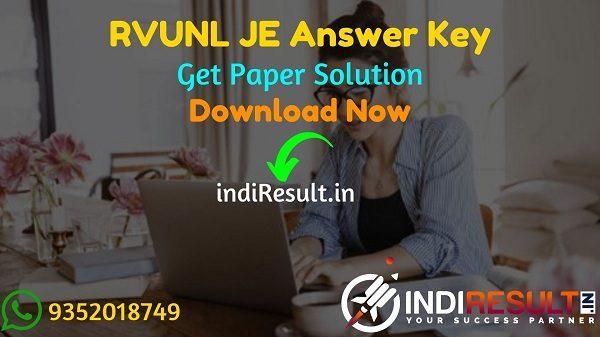 RVUNL JE Answer Key 2021 - Download RVUNL JEN Answer Key Pdf. Download RVUNL Junior Engineer Paper Solution Key here & energy.rajasthan.gov.in.