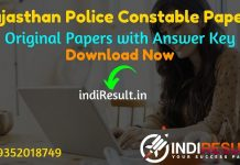 Rajasthan Police Constable Previous Question Papers -Download Rajasthan Police Constable Previous Year Papers Pdf in Hindi & Rajasthan Constable Paper Pdf.