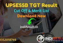 UPSESSB TGT Result 2021 –Download UP TGT Result, Cut Off, Merit List.The Result date of UPSESSB TGT Exam is 27 October 2021. UPSESSB Result of TGT Teacher